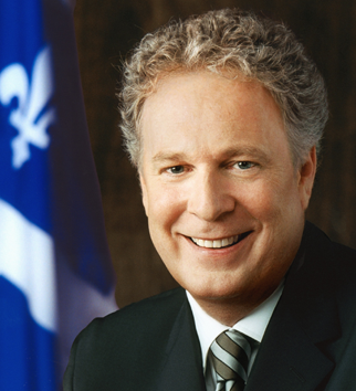 Hardly a year ago <b>Jean Charest</b> was yesterday's man, a guy so despised in the <b>...</b> - jean-comeback-charest