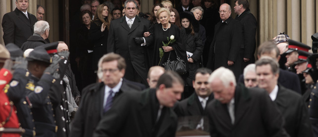 Ted Rogers' Funeral