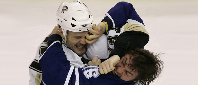 Can we please now ban fighting in hockey?