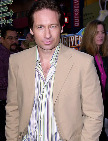 david duchovny displays his range