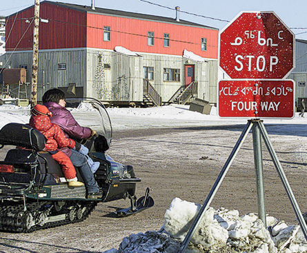 There's no way out of Nunavik