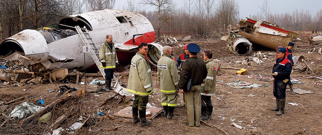Poland, Plane crash