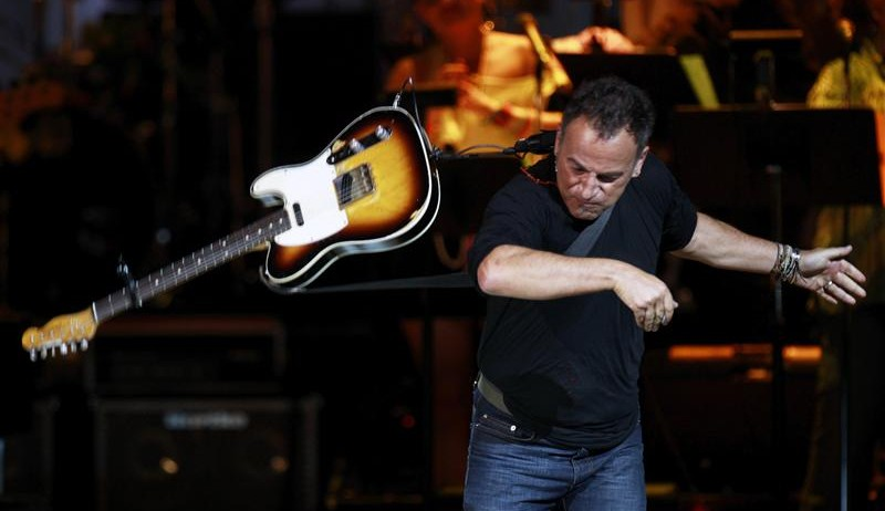 Bruce Springsteen rocks Carnegie Hall in New York