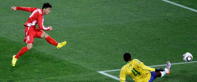 World Cup 2010: Day 5 - Brazil vs. North Korea