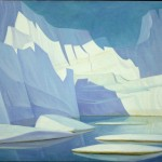 Iceberg Fantasy #19, 1972 (Private Collection. Courtesy of Wynick Tuck Gallery)