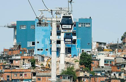 A gondola to the favelas