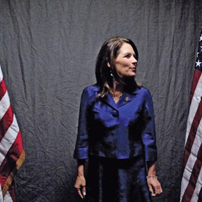 Bachmann goes into overdrive