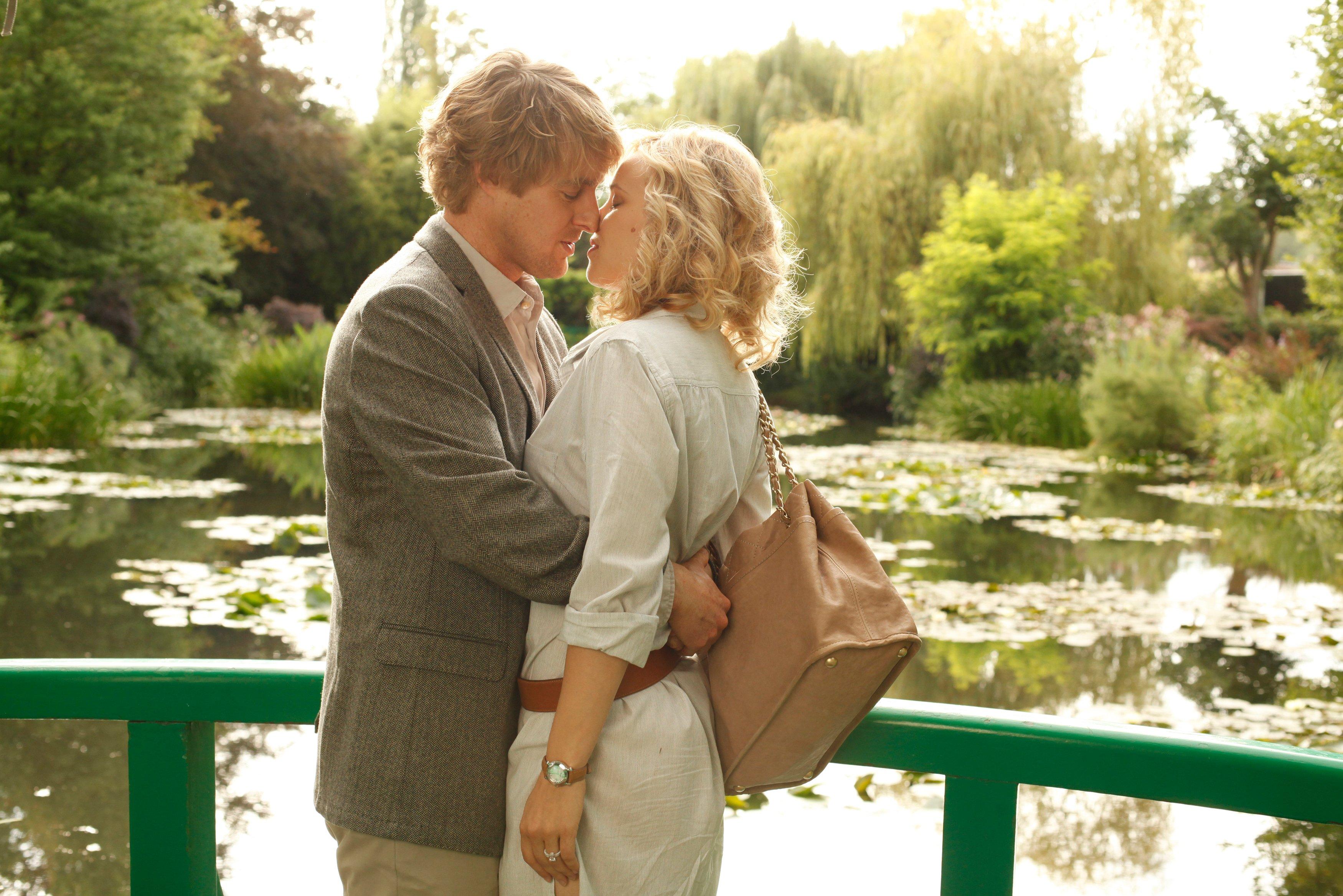 Owen Wilson and Rachel McAdams in 'Midnight in Paris'