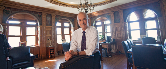 The making of Jack Layton