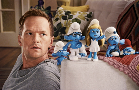 Don't you dare smurf at the Smurfs