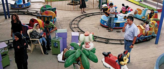 Playground panic