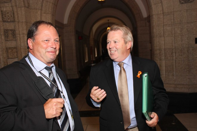 Don martin left and liberal mp rodger cuzner for Martin stoffer