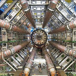 Photo of Large Hadron Collider courtesy of CERN