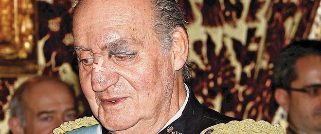 Juan Carlos's bad year