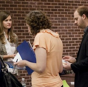 Job fair photo by stevendepolo on Flickr
