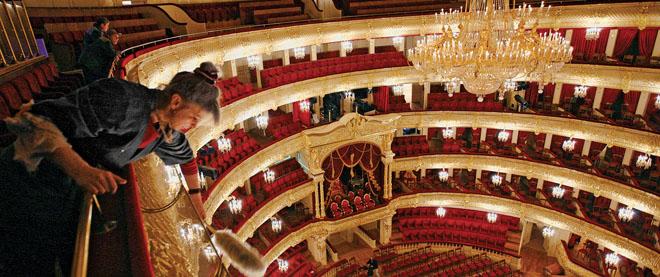 The Bolshoi rises again