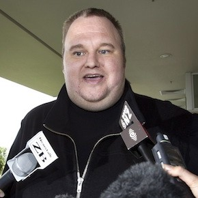Kim Dotcom (Brett Phibbs/AP Photo/New Zealand Herald)