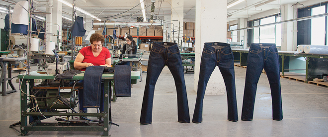 When it comes to denim, fashion hurts