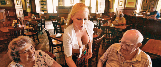 The Hottest New Trend In Casual Dining The Breastaurant Macleansca