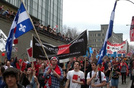 Striking Quebec students reject gov't offer
