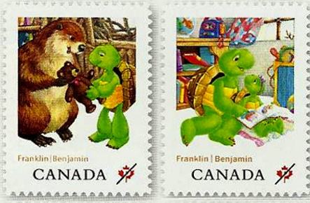 Franklin The Turtle Goes Postal Macleans Ca