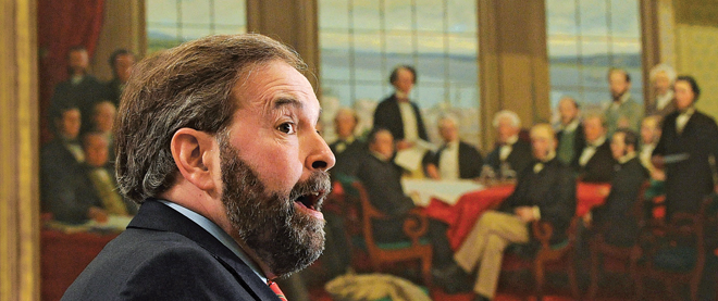Mulcair picks his battle