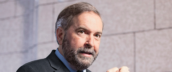Why Harper is going easy on Mulcair