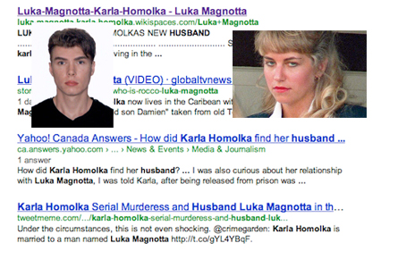 Magnotta and Homolka: Anatomy of a rumour