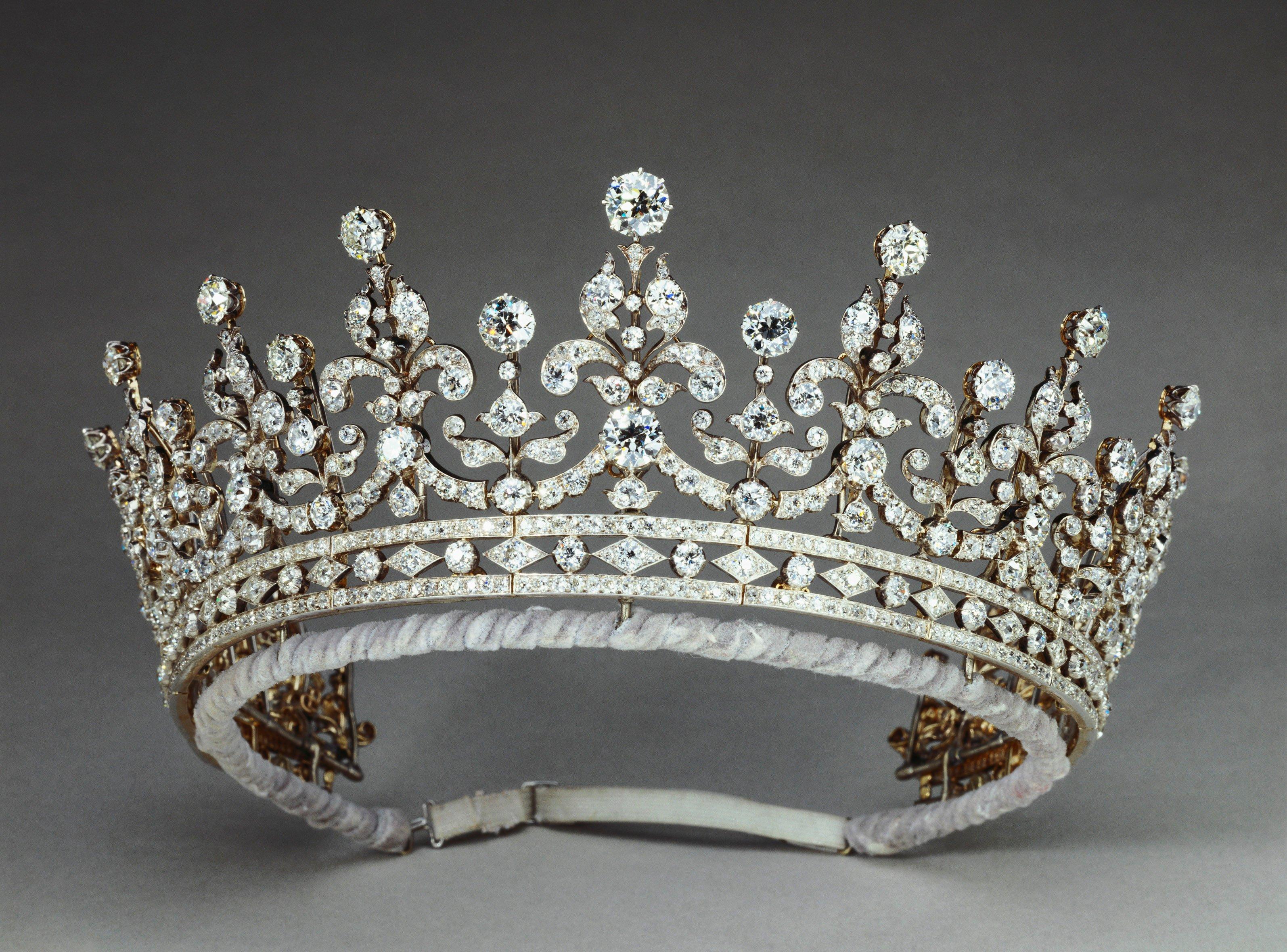 Luxury Micro Zircon Crown Princess Crowns And Tiaras Bride