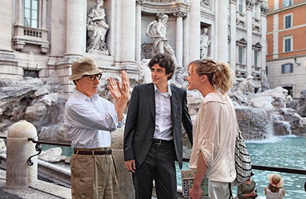 Woody Allen capitalizes on Europe