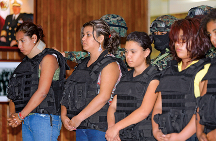 Drug cartel 'queenpins'