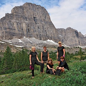 Mitchel Raphael on power hiking in Banff and an Olympic fanatic