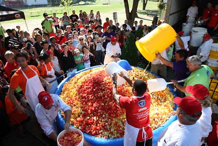 McGill steals record for biggest fruit salad