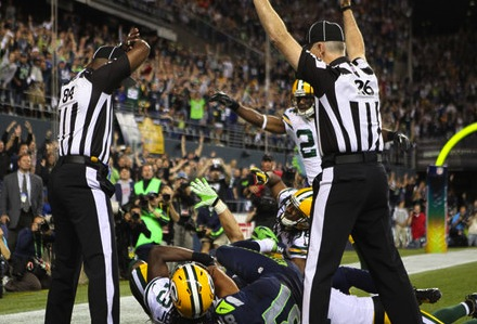 In defence of the replacement officials (Kidding: they're terrible)