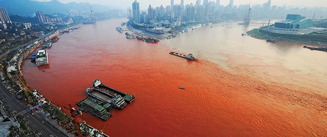 Red alert for a legendary river