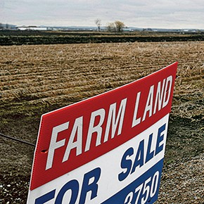 Real estate: today's bidding wars are for farmland