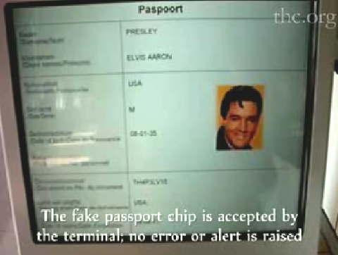 Elvis Lives As A Cloned Epassport