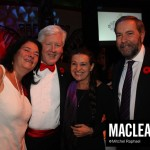(l-r) Arlene Perly Rae, Bob Rae, Catherine Mulcair, Thomas Mulcair.