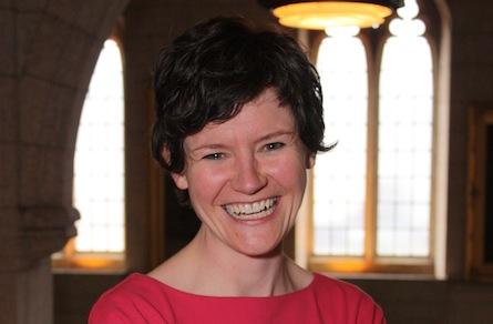 Parliamentarian of the year, 2009 (best rookie): Megan Leslie