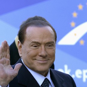 Italy's former Prime Minister Berlusconi arrives for meeting of EPP, ahead of a two-day European Union leaders summit, in Brussels