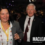 Arlene Perly Rae and Bob Rae.