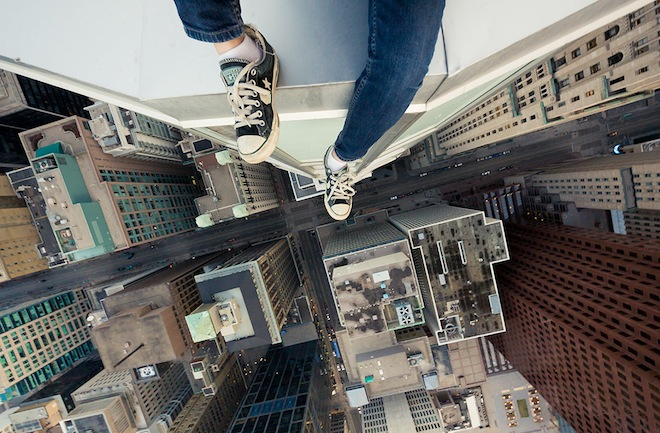 Climbers Defy Gravity To Capture Heavenly Perspectives And Stomach Turning Drops