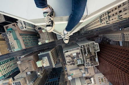 Photo essay: 'Rooftopping' is the new trend in photography