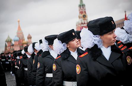 Schooled in Mother Russia