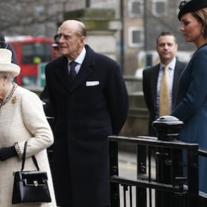 Duchess of Cambridge, Queen Elizabeth II, Prince Philip