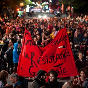 A 2012 Quebec student protest (Alexis Gravel/Flickr)