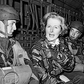 Margaret Thatcher—the walking personification of true grit