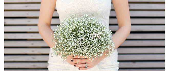 Baby's breath elbows its way into bouquets