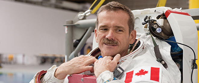 The wonder of Chris Hadfield