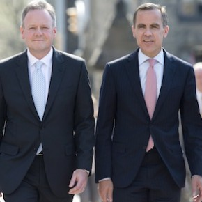 Stephen Poloz Mark Carney